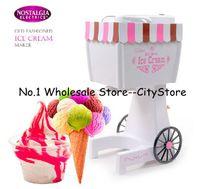 Wholesale Hot Sale soft service ice cream machine ice cream maker old fashioned ice cream maker