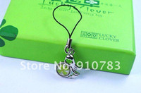 amber leaf - fashion lucky hand phone string Virgo four leaf clover amber bring you lucky amp happiness and retail