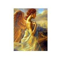 angels painting repro - Handicrafts Repro oil painting quot angel of Girl quot x36 quot L030855