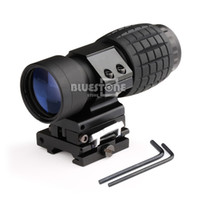 Wholesale 3X Magnifier Scope Sight Tactical with Flip To Side mm Rail Mount Scopes Sight
