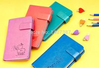 Wholesale 2pcs mixed coluor vintage style Mini Size Korean Stationery mini travel journal notebook