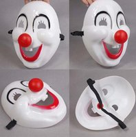 Wholesale Halloween The clown red nose The movie the clown mask Plastic clown mask Masquerade mask