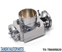 Wholesale TANSKY High Performance RACING PARTS Aluminum Throttle Body For Nissan RB20 mm Aluminum Turbo Throttle Body TK TB60RB20
