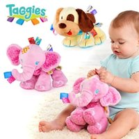 Wholesale The dog pink elephants Baby soothe my doll Baby toys Plush Toy