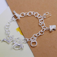 best novels - nice cute Best gift hot sterling Silver fashion Exquisite Elegant Novel Horse New bracelet women ladies Luxury jewelry H074