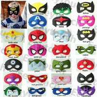 Wholesale Festive Party Supplies Children Cosplay Eye Mask Party Mask Masquerade Masks Performance Mask Superman Mask Eye Shade Superman Cape