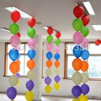 Wholesale P1312 New set mulit color inch tail pearl latex balloons for birthday wedding party decorations balloon supplies
