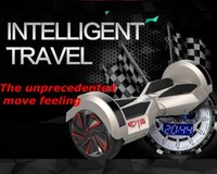 Wholesale Electric two wheel balancing car drift car instead of walking twisting two intelligent mini car body sense of thinking