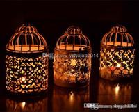 Wholesale Romantic Wedding Favours Iron Lantern Candle Holder for Wedding Favors Decorations