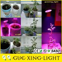 Wholesale 2016 Grow lamp W W W W W W W LED plant lamp Hydroponic Grow light bulbs Garden Greenhouse LED Bulbs Aquarium Light