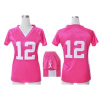 name brand apparel - Brand Pink Ladies Football Jerseys Jerseys Well Stitch Name Number New Football Wears Best Selling Football Apparel New