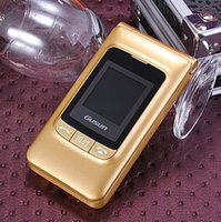 Wholesale CHESEN F8 dual cell phones sim dual standby large font loud voice Wang elderly dual flip phone