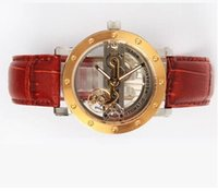 apa gold - IK Apa Qi sided hollow automatic mechanical watch fashion men s watch fashion watches Swiss imports of movement