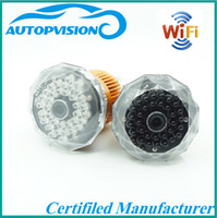Wholesale WIFI hidden Bulb dvr Camera HD P P2P IP cam security CCTV Camera T77 IR light white or invisible light black In stock