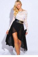 Cheap maxi skirt Best black chiffon