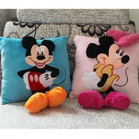 big car videos - Mickey Mouse and Minnie Plush Pillow Cartoon Mickey Mouse and Minnie Pillow Car Cushion Promotion inch