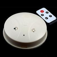 Wholesale Mini DVR SPY Hidden Camera Smoke Detector Motion Detection Video Recorder Cam Mini CCTV Len