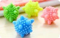 Wholesale HOT Colorful Starfish Korean Style Magic Decontamination Laundry Ball Wash Cloth Anti Winding Protection Machine Wash Ball