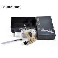Cheap Magic Flight Launch Box Vaporizer Dry herb Vapor Cigarette Kit renewable Birch Hardwood box mod kit dhl free ship