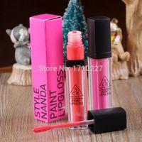 Cheap Wholesale-2015 Lips Tony Moly Tint Makeup Stylenanda 3 Concept Eyes 3ce Bright Lip Gloss Paint Lipgloss Moisturizing Formula Batom Liquido