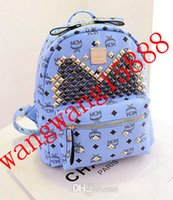 Cheap Hot Fashion Designer MCM backpack Designer Handbags fashion casual printing backpacks top quality cheaper price free shipping sakdnk52634