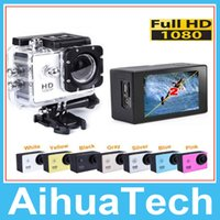 Wholesale Gopro Waterproof Sports Camera Wifi SJ6000 N9 Action Cameras P quot View HDMI Mini DV DVR Camcord