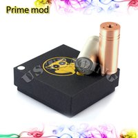 Wholesale Newest Prime Mod Hottest Clone Stainless Red Copper Prime Mod New Nine Machanical Mods Long tailed Monkey Mod for e Cigarette