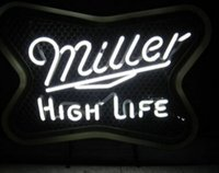 beer tap display - Miller High Life Neon sign Beer Bar Tap Handcrafted Custom Real Glass Tube Store KTV Club Pub Advertising Display Neon Signs quot X20 quot