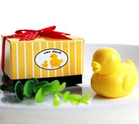 american soap - 20pcs European and American soap handmade soap wedding gift ideas creative little duck soap wedding favor and gift