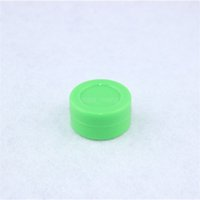 Wholesale 2015 new ml Food grade silicone mini custom cosmetic containers colors small for wax silicone containers