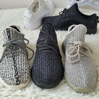 Cheap 2016 Fashion Yeezys 350 Boost Black Breathable Running Shoes Kanye West Yeezy Boost 350 Moonrock air Sports Sneakers With Original Shoes Box
