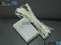 Wholesale 10PCS LED String Mini Fairy Light For Christmas and Wedding Party AA Battery Operated Sold By EWIN24