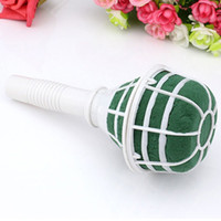 Wholesale Wedding Holder Bouquet Bridal Wedding Flower Decoration Bouquet Foam Holder Handle Wedding Supplies JM0037