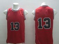 Wholesale New Arrival American Basketball jerseys Noah Gasol Black Red White Men s Uniforms Cheap Basketball Wears
