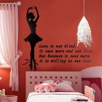 art channel - Crystal wall stickers ballet romantic dance channel sofa wall stickers
