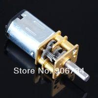 dc mini gear motor - Model N20 DC V RPM Mini Metal Gear Motor with Gearwheel mm Shaft Diameter