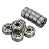 Wholesale 10Pcs High Quality ZZ x10x4mm Miniature Radial Bearings Deep Groove Ball Bearing Shielded Silver Chrome Steel order lt no track