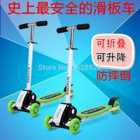 baby swing car - Scooter swing car Four Wheel Scooter baby stroller children s scooter scooter