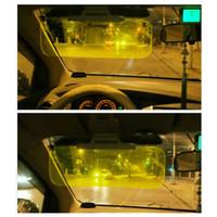 Wholesale Car Sun Visor Goggles For Driver Day And Night Anti dazzle Mirror Anti Glare Goggle Sun Visors Automobile Sun shading Block