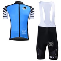 assos shorts sizing - High quality cycling jersey blue assos cycling clothing short sleeves top and bib pants shorts with gel pad