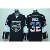 apparel brands usa - LA Kings Quick USA Flag Fashion Hockey Jereys Premier Jersey Brand Hockey Apparel All Teams Cheapest Hockey Uniforms Professional Hockey