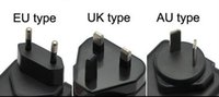 battery convert - 50pcs Travel Adapter Convert US Wall Plug Battery Charger to AU EU UK version style Plug DHL