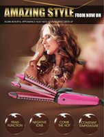 Wholesale 2015 VISHINE New Promotion Products Multifunctional Curler Hair Straightener Good Quality Factory Price Comb Teeth Designer
