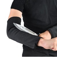 anti knife - 1PC CUT RESISTANT ANTI FOLDING KNIFE CUT TEARING ABRASION SAFETY WORKING PROTECTIVE ARM GLOVES AND PROTECT ARMS RETAIL
