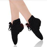 ballroom dance shoes - Soft Canvas Ballet shoes dance for women girls kids Toe cowhide ballroom dance shoes