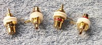 Wholesale Copper gold plated rca order lt no track