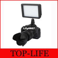 Wholesale WanSen WSLED126 K LED Video Camera Light For Nikon Canon D D D Mark III D T5i T4i T3i