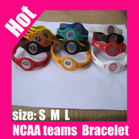 alabama state sports - silicone USA University sports Alabama State Florida Gators Geargia bulldogs bracelet