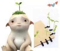 Wholesale DIY hairpin children headdress grass Nima s Vampire Killers love note in Huppah wisdom of grass clover grass Nima