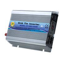 Wholesale Micro Grid Tie Inverter Accept DC V AC V Solar Power Pure Sine Wave EU Converters W Watt